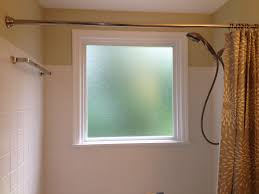 What to do if you have a window in your shower..... Install a ...