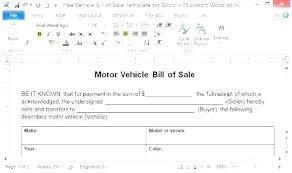 Receipt Template Doc Bill Of Sale Receipt Template Bill Of Sale Template Doc