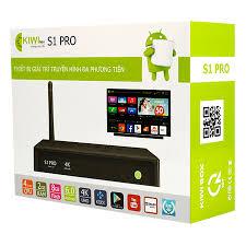 TV Box Kiwibox S1 Pro - Hàng Chính Hãng - Android TV Box, Smart Box