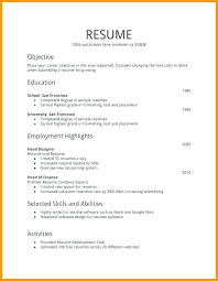 Resume For First Job Unique First Resume Template Coachoutletus