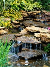 Small Picture stone garden waterfall designs