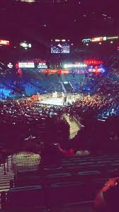 Mgm Grand Garden Arena Section 19 Row X Seat 20 Carl