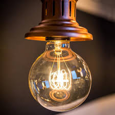 Large Filament Light Bulbs Large Globe Quad Loop Filament Light Bulb