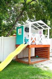 playhouse plans with loft outdoor