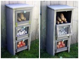 ... Kitchen Vegetable Storage: Storage Ideas, Glamorous Vegetable Storage  Bins Vegetable Bins For Sale Diy Produce Bin Plans: ...