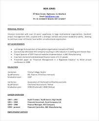 Resume Sample For Free 40 Free Accountant Resume Templates Pdf Doc Free