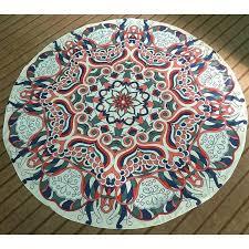 cheap round rugs. Round Bohemian Mat Rug Rugs Cheap Mandala Tapestry Wall Hanging Yoga Beach Picnic Throw Towel Wrap