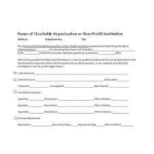 charitable contribution receipt letter charitable donation receipt sample cheer receipt template