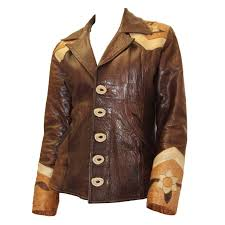 late 1960s handmade leather jacket for