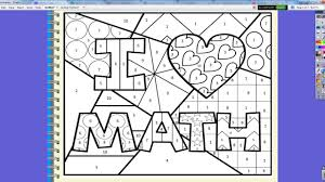 two step inequality coloring activity