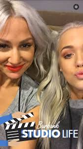 lou and lottie at the ellen show in los angeles