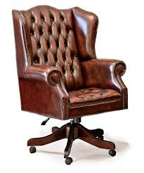 classic office chair. Classic Wing Traditional Leather Chesterfield Office Swivel Chair Classic Office Chair