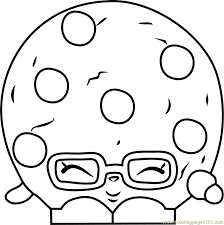 Small Picture Candy Cookie Shopkins Coloring Page Free Shopkins Coloring Pages