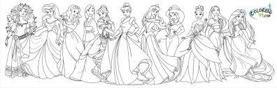 Disney Princess Coloring | 224 Coloring Page