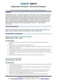 Designers Resume Instructional Designer Resume Samples Qwikresume