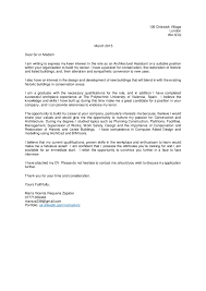 cover letter architectural assistant 129 chiswick village london w4 3dq march 2015 dear sir or madam i am writing to architecture cover letter