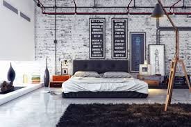 industrial bedroom design. Simple Industrial And Industrial Bedroom Design S