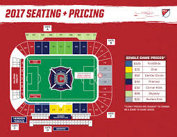 Toyota Park Seating Chart Seating Chart Chicago Fire Related Keywords Suggestions