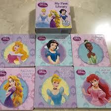 disney princesses box set 6 hardcover