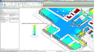autodesk a screenshot of autodesk s lighting plug in for revit