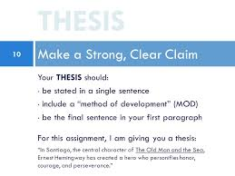 the five paragraph essay writing on old man and the sea ppt  10 your