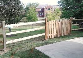Split rail wood fence gate Driveway Gate Split Rail W Dbl Picket Gate The Fence Company Llc Split Rail The Fence Company Llc