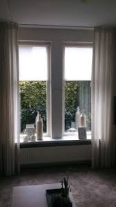 Small Picture White wooden venetian blinds combined with curtains What do u