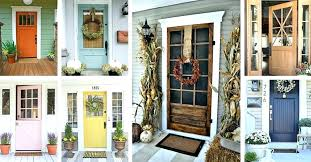 modern farmhouse front door colors