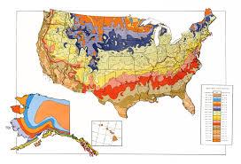 Plant Zone Chart Usda Unveils New Plant Hardiness Zone Map Usda Ars
