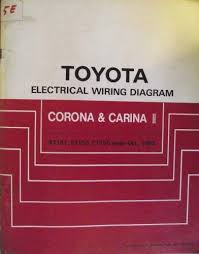 details about 1988 honda zb50 toyota corona toyota and manual