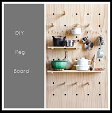 Pegboard Kitchen Peg Board Crafthubs