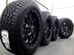 Black truck rims and tires   Monster Wheels and Rims for Best ...