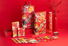 This lunar new year, celebrate with delicious lunar new year chocolate & candy gifts at see's candies. Get Lucky In The New Year With This Beautifully Illustrated Packaging Chinese Gifts Chinese New Year Gifts Festive Gifts