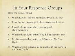 glass castle day ppt 9 in your response groups