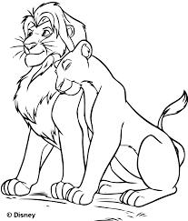 19 Dessins De Coloriage Le Roi Lion A Imprimer Gratuit Imprimer