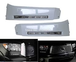 2008 Toyota Sequoia Fog Lights Us 108 9 Free Shipping Led Daytime Running Lights Drl Led Front Bumper Fog Lamp Case For Toyota Tundra 2007 2013 And Sequoia 2008 On In Car Light