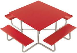 aluminum picnic tables. P48s-48-square-picnic-table Aluminum Picnic Tables