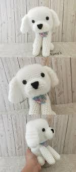 crochet dog amigurumi bichon frise gifts crochet bichon frise amigurumi dog gift