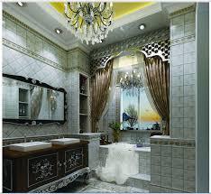 3d design neoclassical style bathroom tiles