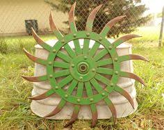 ebay farm and garden. antique vintage metal john deere jd planter seed box lid farm repurpose! in antiques, antiques   ebay rustic outdoor decorations pinterest lids, ebay and garden