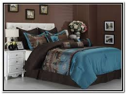 comforter sets bedroom ideas california king comforter sets with blue mattress and brown wall decor