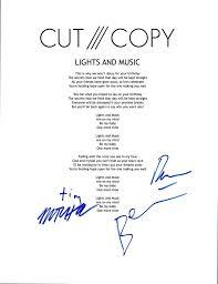 Cut Copy Lights And Music Lyrics