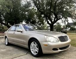 Check back with us soon. 2003 Mercedes Benz Clase S S430 Ebay