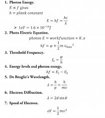 Physics 2 Formula Chart A Level Physics Formula Sheet Hubpages