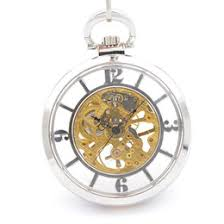 discount wind up pocket watches 2017 mechanical wind up pocket 2017 wind up pocket watches silver skeleton mechanical pocket watches for chain hand wind