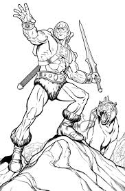 Coloring Pages : Nice He Man Coloring Pages With 599506aac2c89 He ...