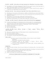 Senior Software Engineer Resume Sample Resume Software Engineer ...