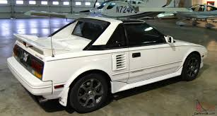 MR2 White with ground effects