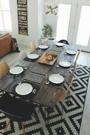 Diy Kitchen Table On A Budget Dining Room Diy Inspiration Diy