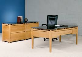 executive office desk cherry. Beautiful Cherry Cessina Desk And Credenza With 4 File Drawers Cherry Polished Black  Granite On Executive Office
